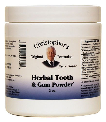 Christopher's Herbal Tooth Powder
