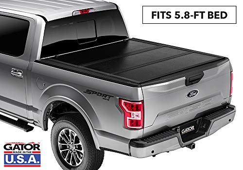 Gator EFX Hard Tri-Fold Truck Bed Tonneau Cover | GC14020 | fits 2019-2020 Chevy Silverado/GMC Sierra 5' 8' Bed (New Body Style) | MADE IN THE USA