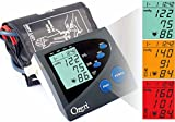 Ozeri BP4M CardioTech Premium Series Digital Arm Blood Pressure Monitor with Hypertension Color Alert Technology