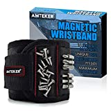 Cool Gadgets for Fathers Day Gift, Amteker Magnetic Wristband for holding tools, Screws, Nails, Drilling Bits and Small Tools, Best Man Gifts