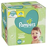 Pampers Wipes Complete Clean Unscented 7 packs ( 504 wipes )