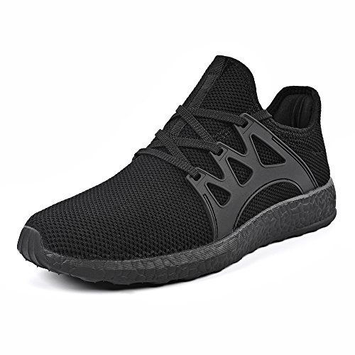 ZOCAVIA Mens Sneakers Ultra Lightweight Breathable Mesh Sport Walking Running Shoes