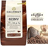 CALLEBAUT Milk Chocolate Callets, 2 Pound