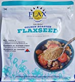 Golden Roasted Flaxseed Cold Milled 1.2kg/42.32oz Omega-3 Nutrition Dietary Fibre