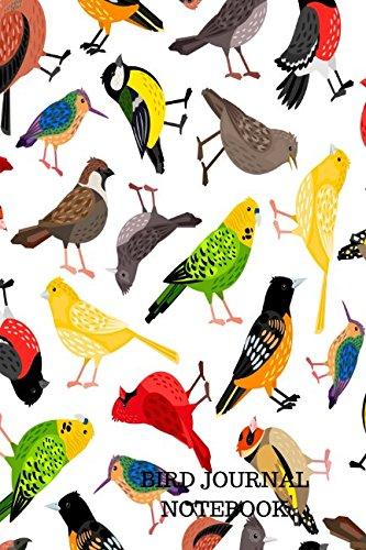 Bird Journal Notebook: Bird Watching Log