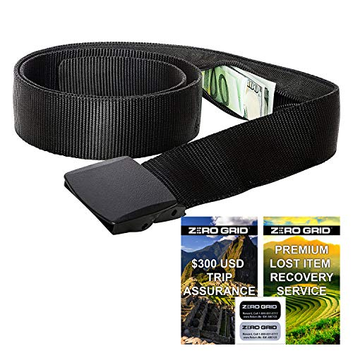 Travel Security Belt - Hidden Money Belt, Anti Theft Travel Belt TSA...