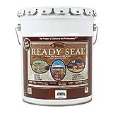 Ready Seal 530 5-Gallon Pail Mahogany Exterior Wood Stain and Sealer