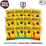 HIPPEAS Organic Chickpea Puffs + Variety Pack | 1.5 ounce, 12 count | Vegan, Gluten-Free, Crunchy, Protein Snacks