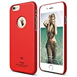 iPhone 6S Case, elago [Slim Fit][Soft Feel Extreme Red] - [Light][Minimalistic][True Fit] - for iPhone 6/6S