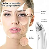 Blackhead Remover, Blackhead Removal, Eitpoton Electric Blackhead Vacuum Suction Removal, 4 in 1 Standable USB Skin Facial Pore Cleaner Set (Gray)