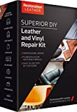 Leather and Vinyl Repair and Restoration Kit- Use Our New Improved Formula DIY Kit for Recoloring,Patch,Crack and Scratch - Restore Tear of Furniture,Car Seat, Shoe,Upholstery and Much More