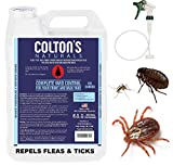 Natural Flea Tick Mosquito Ant Yard, Patio, Spray Protection. Covers 10,000 SQ Ft.- All Natural Cedar