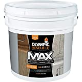 Olympic Stain Rescue It Max Deck Resurfacer + Primer + Sealant, California Rust, 3.5-Gallon