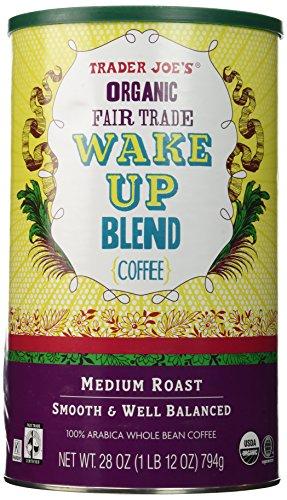 Trader Joe's Organic Fair Trade Wake Up Blend Coffee 28 oz