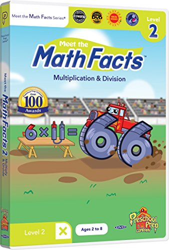 Meet the Math Facts - Multiplication & Division Level 2 DVD