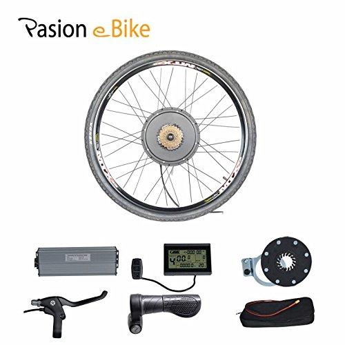 "Passion eBike 48V 1500W Motor Bicicleta Electric Bicycle Bike Conversion Kit for 29"" Rear Wheel"