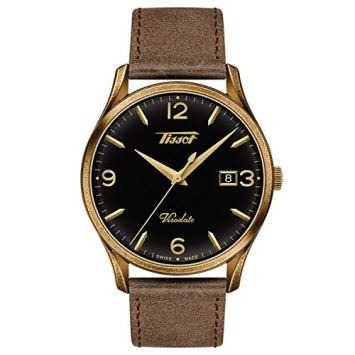 Tissot Men's Heritage Visodate - T1184103605700 Brown/Gold One Size