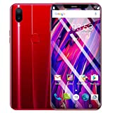 Full Screen Unlocked Smartphone | Inkach 6.2 inch Ultrathin Android 2 HD Camera Mobile Phone | 3G LTE GSM GPS WiFi Cell Phones 1GB RAM, 16GB ROM, 8-Core Processor Cellphone Telephones 2 SIM (Red)