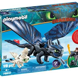 PLAYMOBIL How to Train Your Dragon III Hiccup & Toothless with Baby Dragon 51uDZrnRTEL