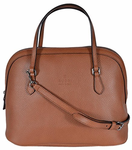 """51uHU9f07eL Saffron Tan Textured Leather, Embossed Gucci Trademark Logo, Domed Structured Styling, Dual Flat Straps with a 4"""" Drop, Detachable Shoulder Strap with a 19"""" Drop, Top Zip Close, Interior Zip and Slip Pockets, Interior Gucci Serial Number,"""