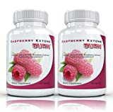 Raspberry Ketone Burn: Pure Raspberry Ketone Weight Loss Supplement | Highly Concentrated Natural Appetite Suppressant, Antioxidant, Weight Loss Diet Pills, 500mg, 30 Capsules (2 Bottles)