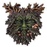 Spirit of Equinox Green Man Small Face Plaque