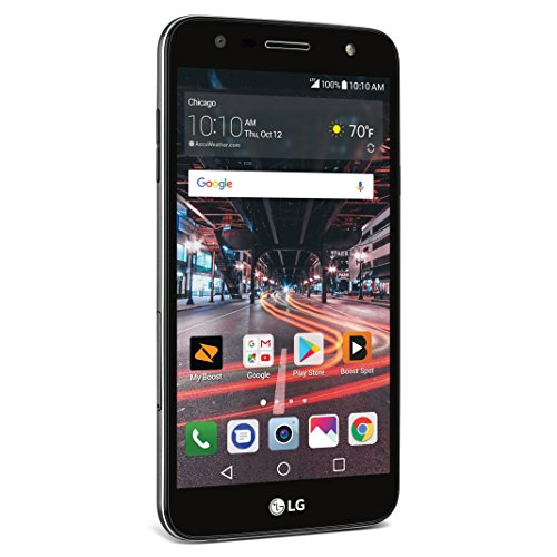 Boost Mobile LG X Charge - Prepaid Carrier Locked - 5.5' Screen - 16GB - Titan Black