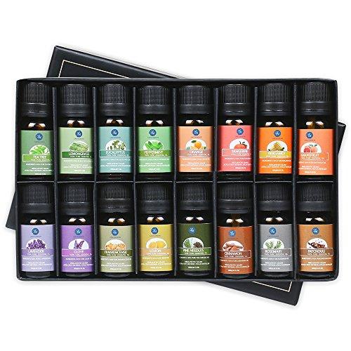 16-Piece Lagunamoon Essential Oils Gift Set - LOW PRICE!
