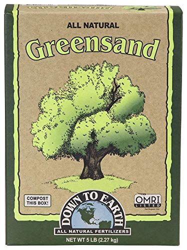 Down to Earth Organic Greensand Fertilizer, 5 lb