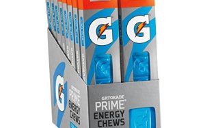 Gatorade Prime Energy Chews, Cool Blue (Pack of 16)