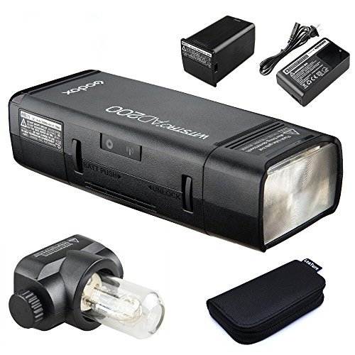 GODOX AD200 TTL 2.4G HSS 1/8000s Pocket Flash Light Double Head 200Ws with 2900mAh Lithium Battery Strobe Flash