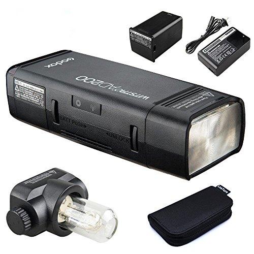 GODOX AD200 TTL 2.4G HSS 1/8000s Pocket Flash Light Double Head 200Ws with 2900mAh Lithium Battery Strobe Flash
