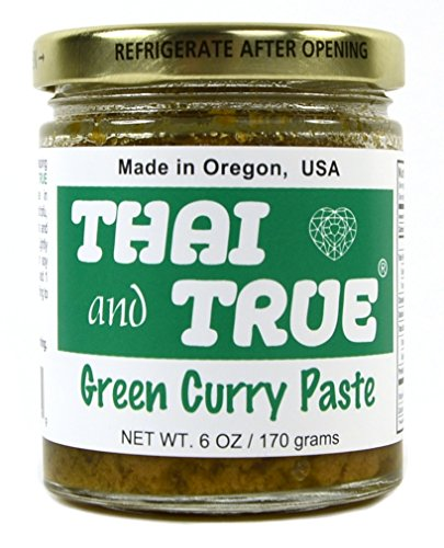 Thai and True Curry Paste - Green