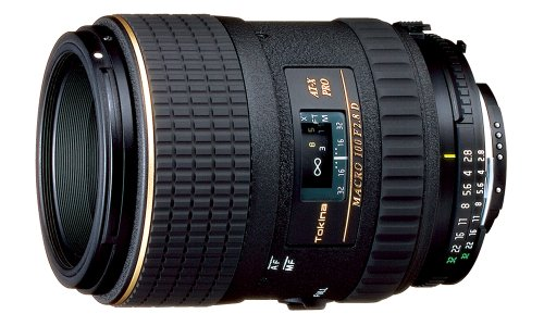 Tokina AT-X 100mm f/2.8 PRO D Macro Lens for Nikon Auto Focus Digital and Film Cameras – Fixed