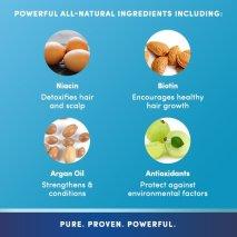 PURA D'OR Hair Loss Prevention Premium Organic Argan Oil Shampoo