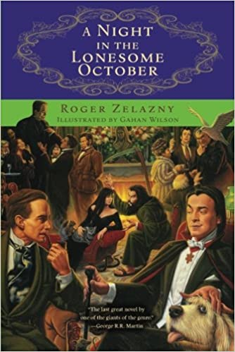 Cover of A Night in the Lonesome October