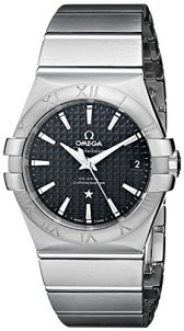 Omega Men's Constellation Co-Axial Automatic 35mm Analog Display Swiss Automatic Silver Watch