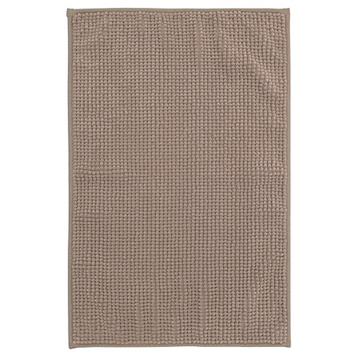 Ikea Supersoft Bath Shower Mat Rug Bathtub Bathroom Floor Badaren 16 x 24' (Beige)