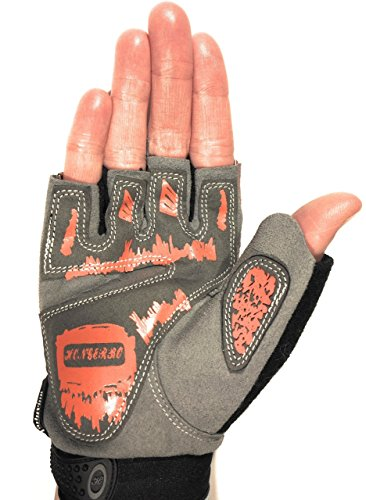 Workout Gloves – Womens Gym Gloves - Guantes para Gym - Weightlifting Gloves - Gym Gloves - Workout Equipment - Cycling Gloves - in size S