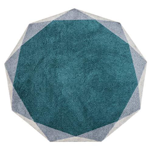 Tapered Living Room Circular Carpet Rug Floor mat Model Bedroom Bedside mat Children Crawling Blanket