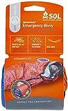 S.O.L Survive Outdoors Longer 90 Percent Heat Reflective Durable Lightweight Emergency Bivvy, Orange