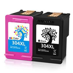 51un7FDUGDL - H&BO TOPMAE Remanufactured Ink Cartridge Replacement for HP 304XL 304 XL Use with Deskjet 2630 2632 3720 2622 3750 3760 Envy 5030 5020 5010 5032 5050