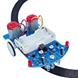 Vogurtime D2-5 Smart Car Kit Soldering Project Line Tracking Robot for Fun Educational Electronic Learning Practicing with English Manual
