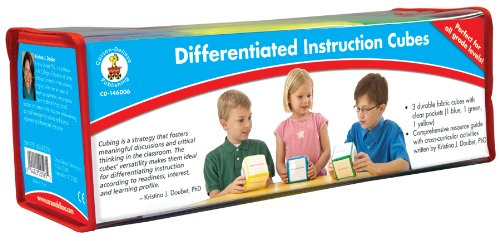 Carson-Dellosa Publishing Differentiated Instruction Cubes