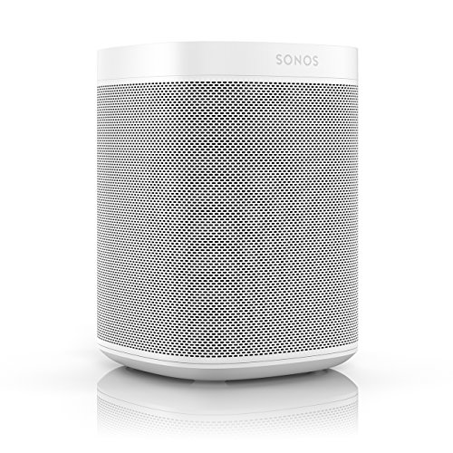 Sonos One (Gen 1) – Voice Controlled Smart Speaker with Amazon Alexa Built-in (White)