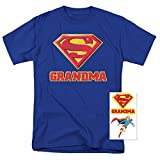Superman Super Grandma DC Comics T Shirt (X-Large)