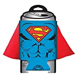 Superman Caped Can Cooler Koozie