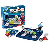 ThinkFun Circuit Maze Electric Current Logic Game and STEM Toy for Boys and Girls Age 8 and Up - Toy of the Year Finalist, Teaches Players about Circuitry through Fun Gameplay