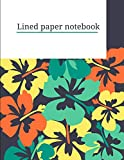 lined paper notebook: Notebook lined large : letter paper for kids/ lined journal for writing/ journal dotted books/writing tools for kids/lined paper ... journal kids( writing paper with lines)