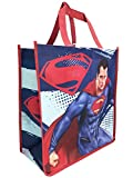DC Comics Superman Red Cape Man of Steel Tote Bag Grocery Shopping Bag